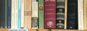 AKTC Library shelves, photo by AKTC