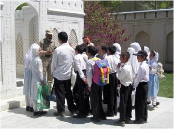 Educational project in Baghe Babur, Kabul, photo by AKTC