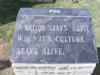 A Nation Stays Alive When Its Culture Stays Alive (AKTC)